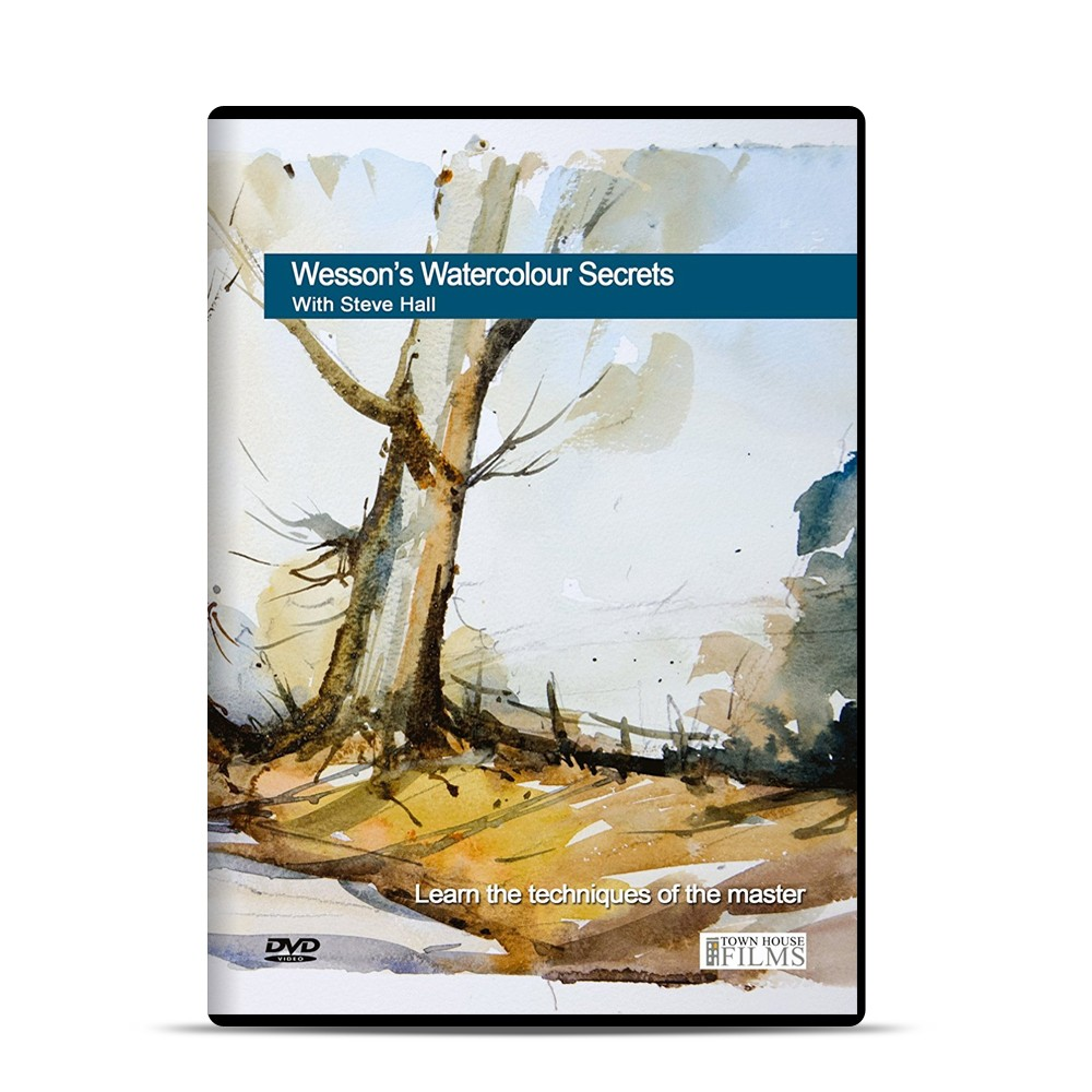 Townhouse DVD : Wessons Watercolour Secrets : Steve Hall