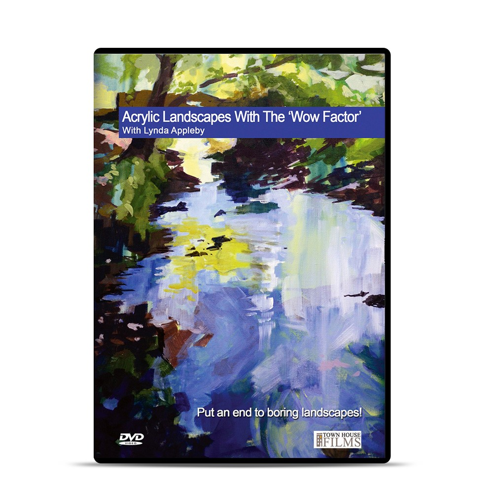 Townhouse DVD : Acrylic Landscapes With The Wow Factor With Lynda Appleby