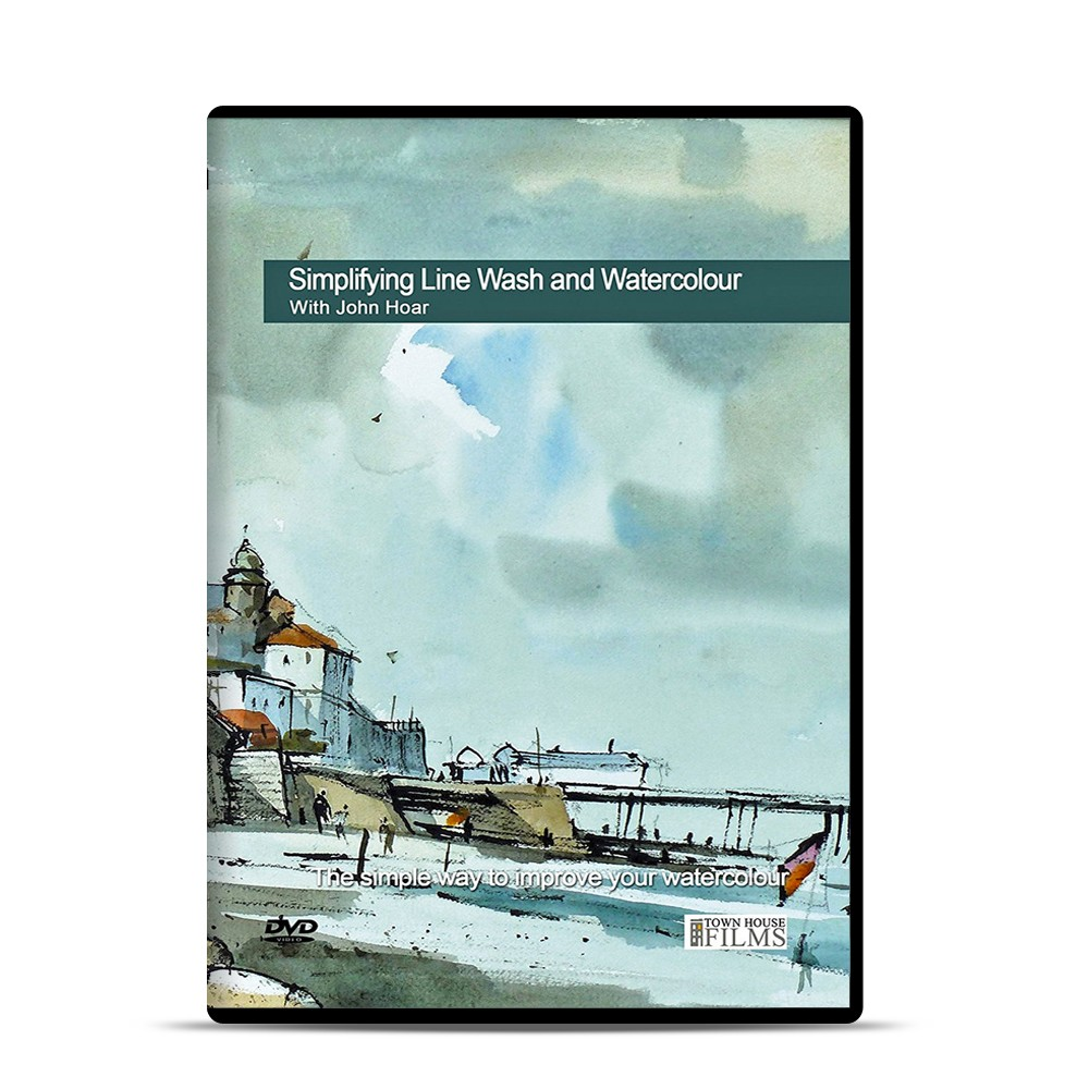 Townhouse DVD : Simplifying Line Wash and Watercolour : John Hoar