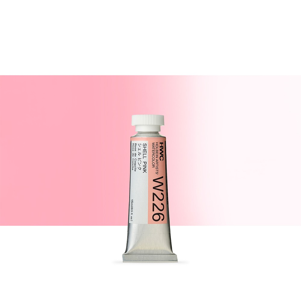 Holbein Watercolour Paint : 15ml : Shell Pink