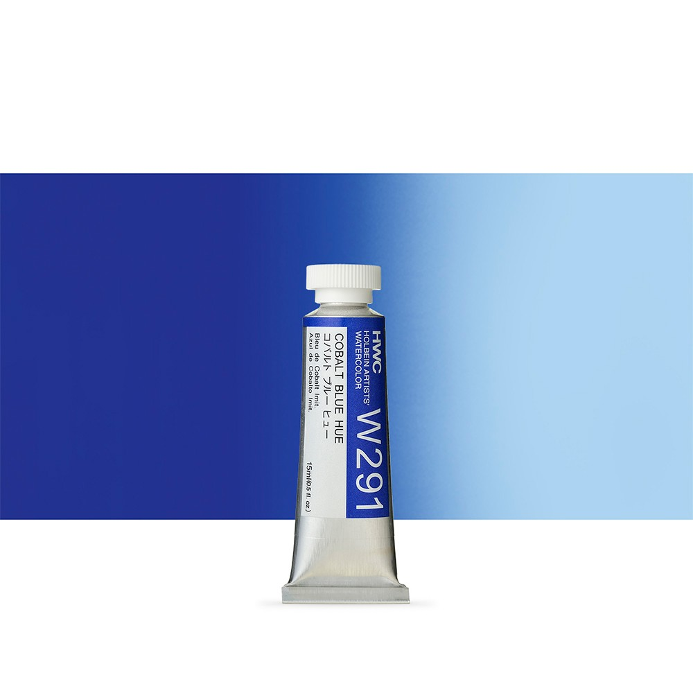 Holbein Watercolour : 15ml Tube COBALT BLUE HUE
