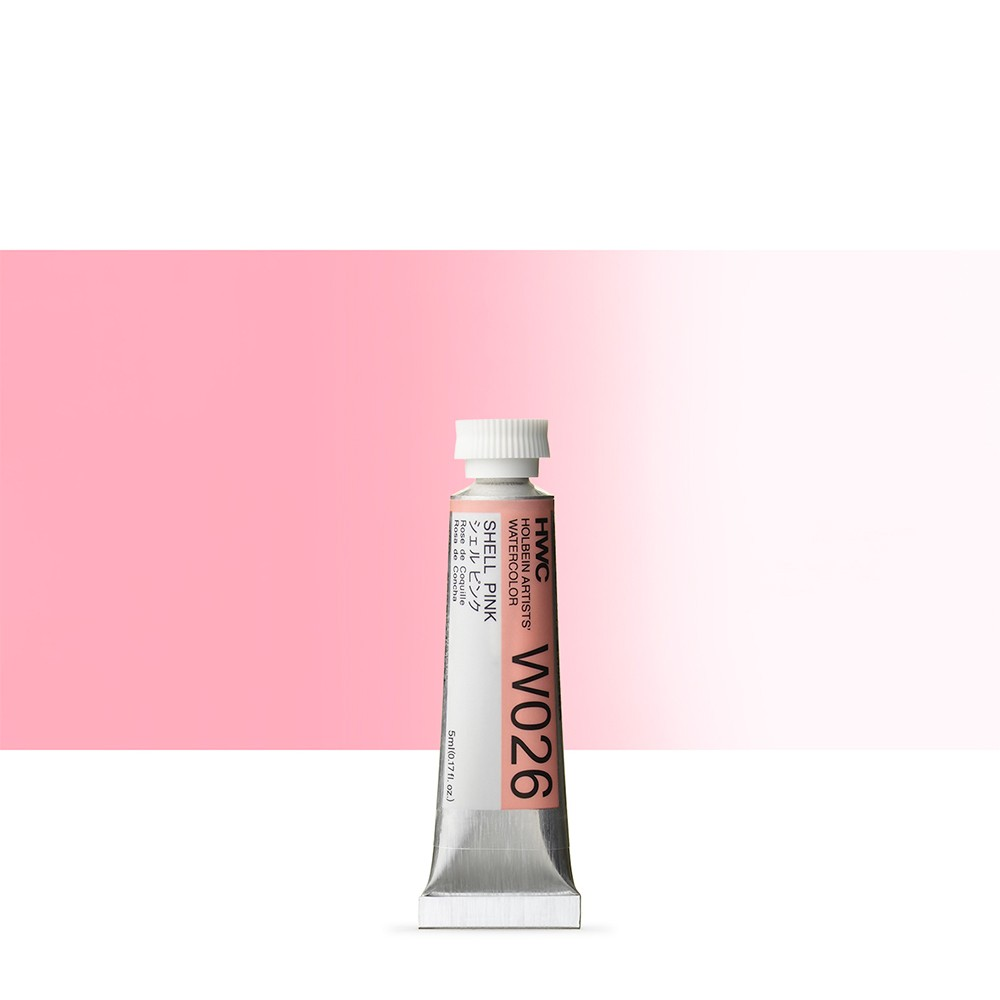 Holbein Watercolour Paint : 5ml : Shell Pink