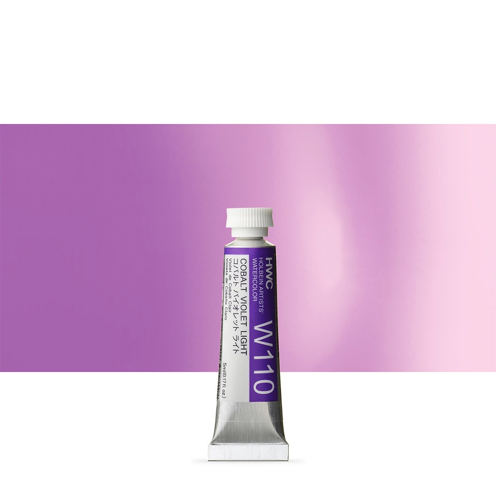 Holbein Watercolour : 5ml Tube COBALT VIOLET LIGHT