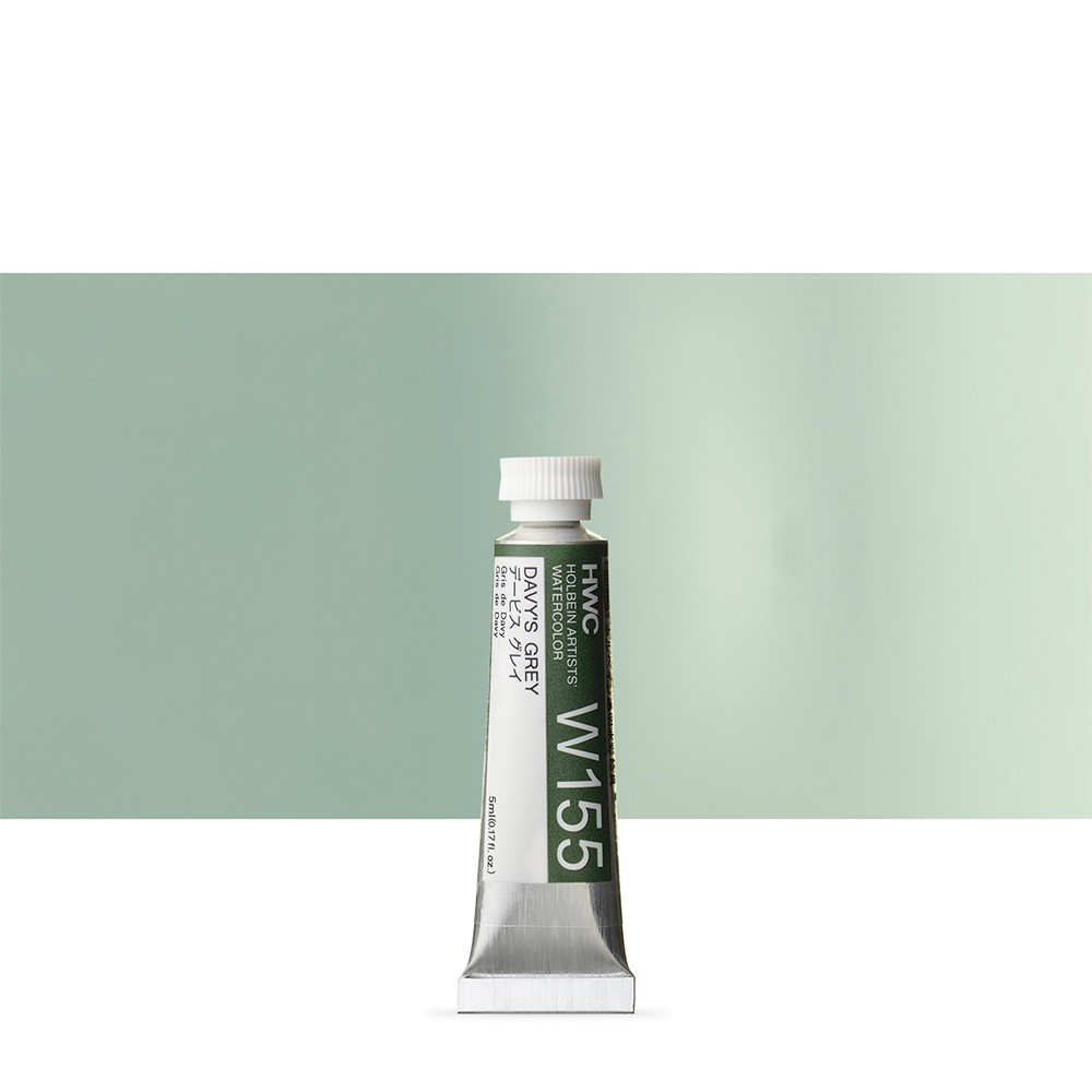 Holbein Watercolour : 5ml Tube DAVYS GREY