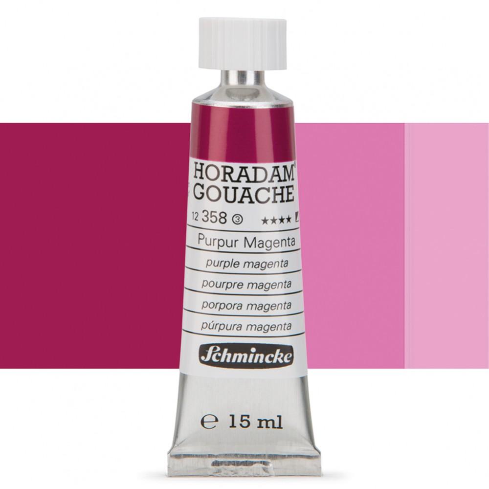 Schmincke : Horadam Gouache Paint : 15ml : Purple Magenta