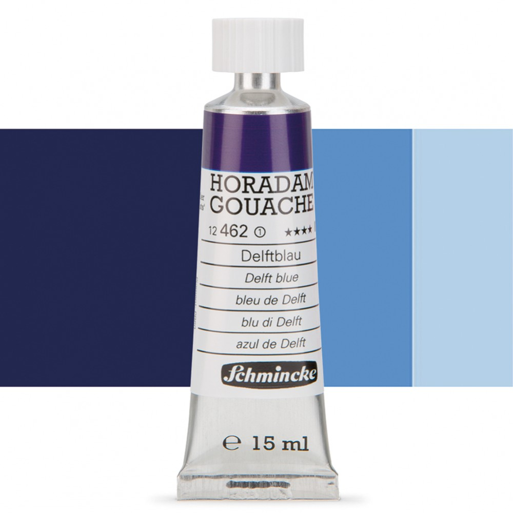 Schmincke : Horadam Gouache Paint : 15ml : Delft Blue