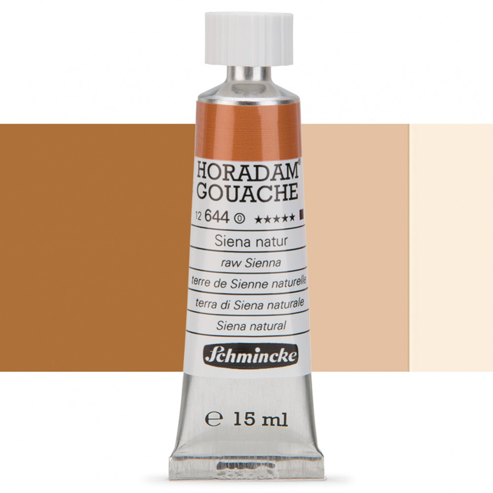 Schmincke : Horadam Gouache Paint : 15ml : Raw Sienna