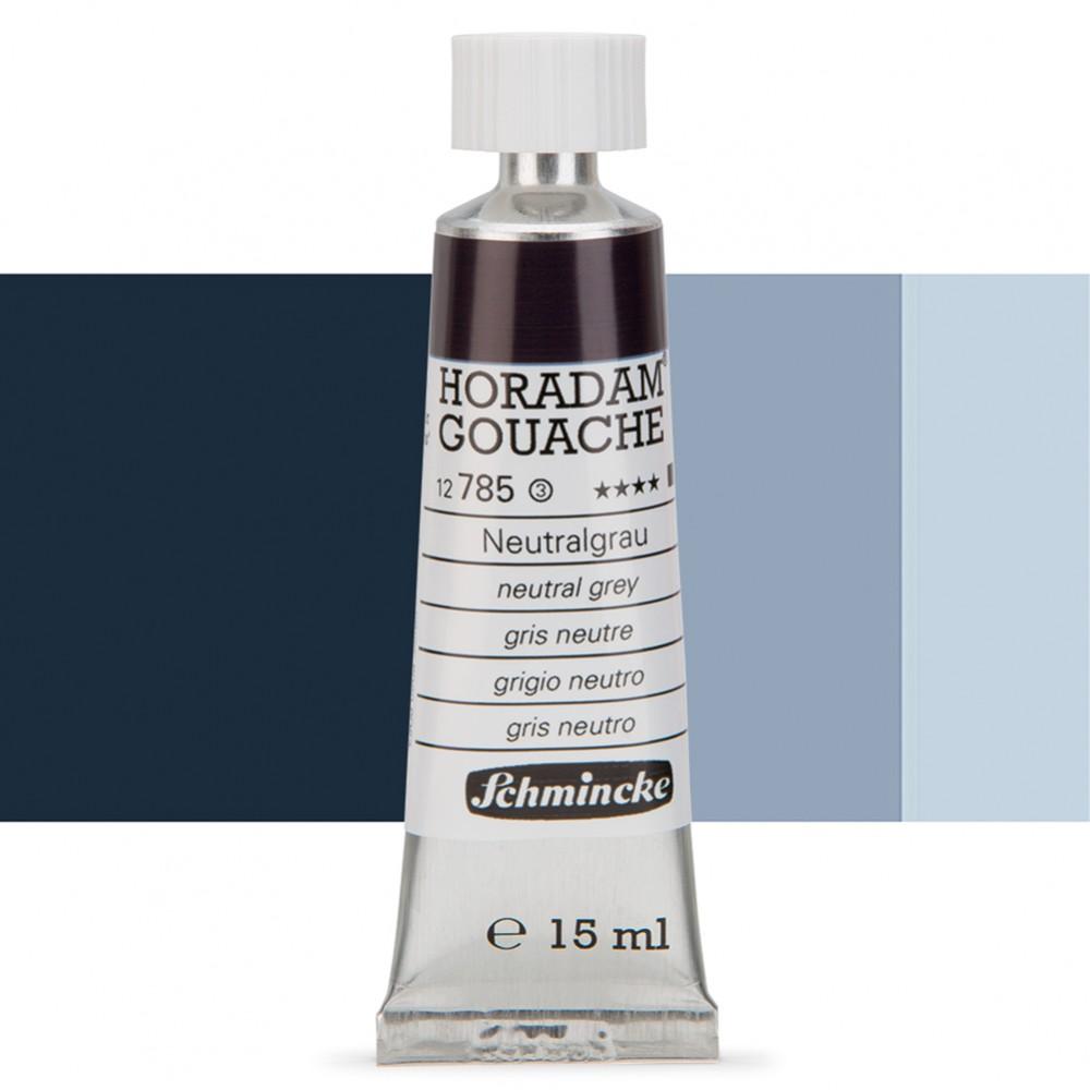 Schmincke : Horadam Gouache Paint : 15ml : Neutral Grey