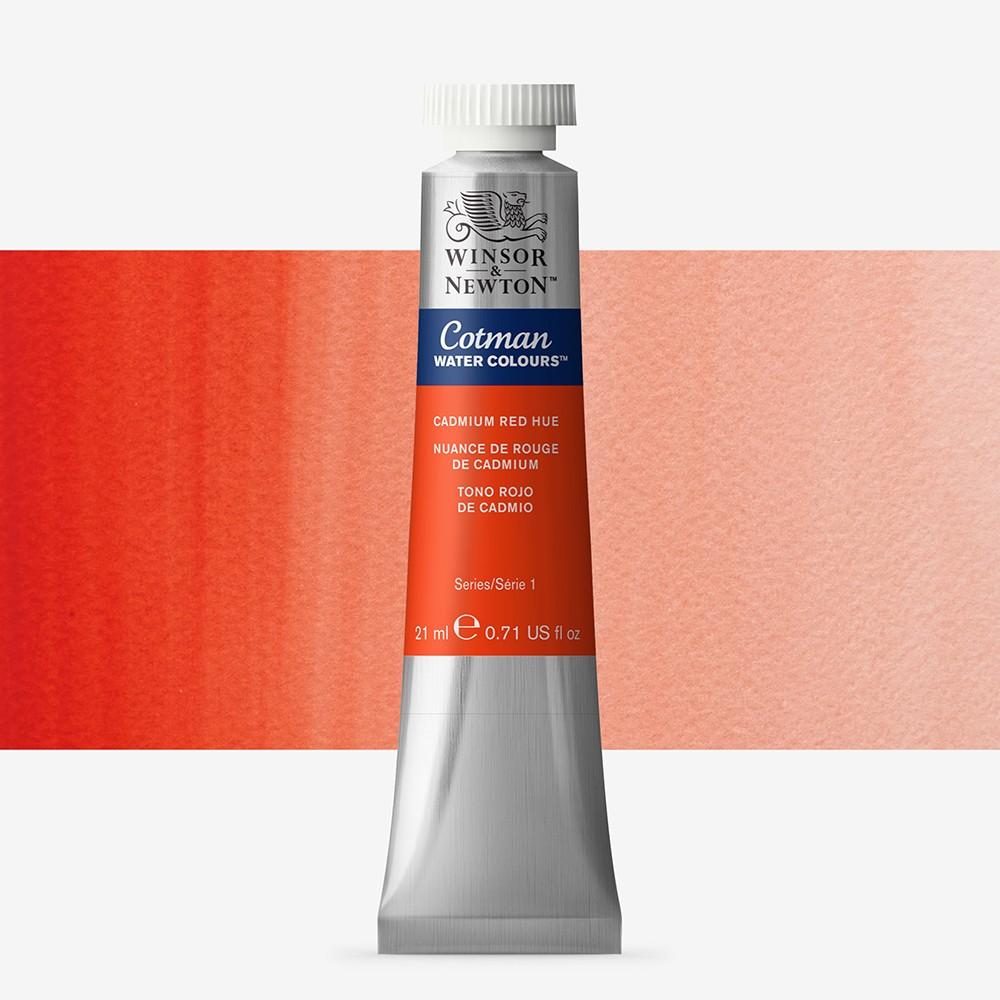 W&N : Cotman Watercolour Paint : 21ml : Cadmium Red Hue
