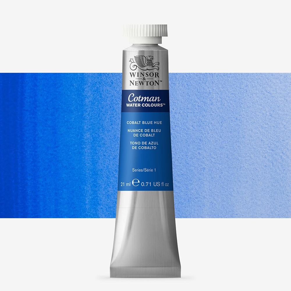 W&N : Cotman Watercolour Paint : 21ml : Cobalt Blue Hue