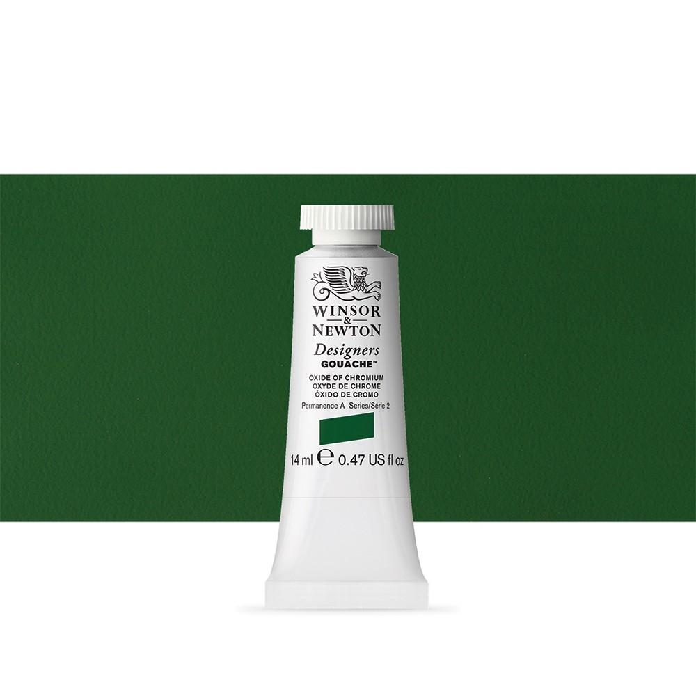 Winsor & Newton : Designer Gouache Paint : 14ml : Oxide Of Chromium