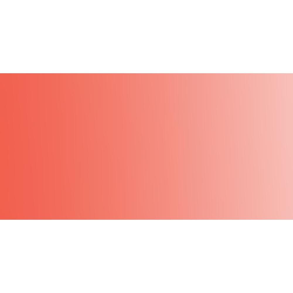 Daler Rowney : Artists' Watercolour Paint : Half Pan : Cadmium Red Pale