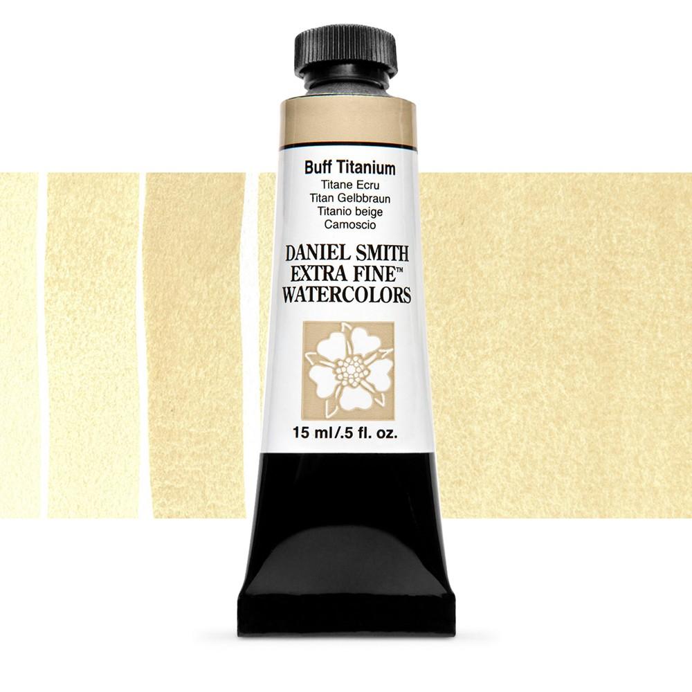 Daniel Smith : Watercolour Paint : 15ml : Buff Titanium : Series 1