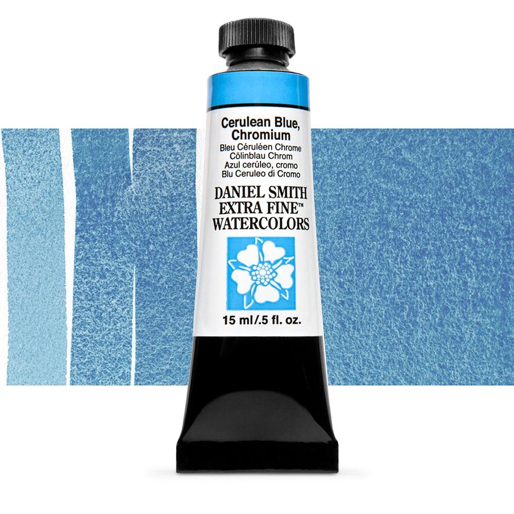 Daniel Smith : Watercolour Paint : 15ml : Cerulean Blue, Chromium : Series 2