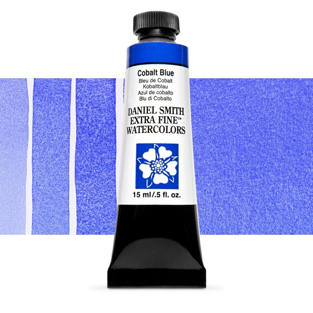Daniel Smith : Watercolour Paint : 15ml : Cobalt Blue : Series 3