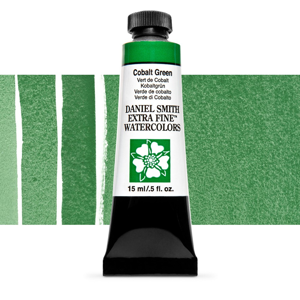 Daniel Smith : Watercolour Paint : 15ml : Cobalt Green : Series 3