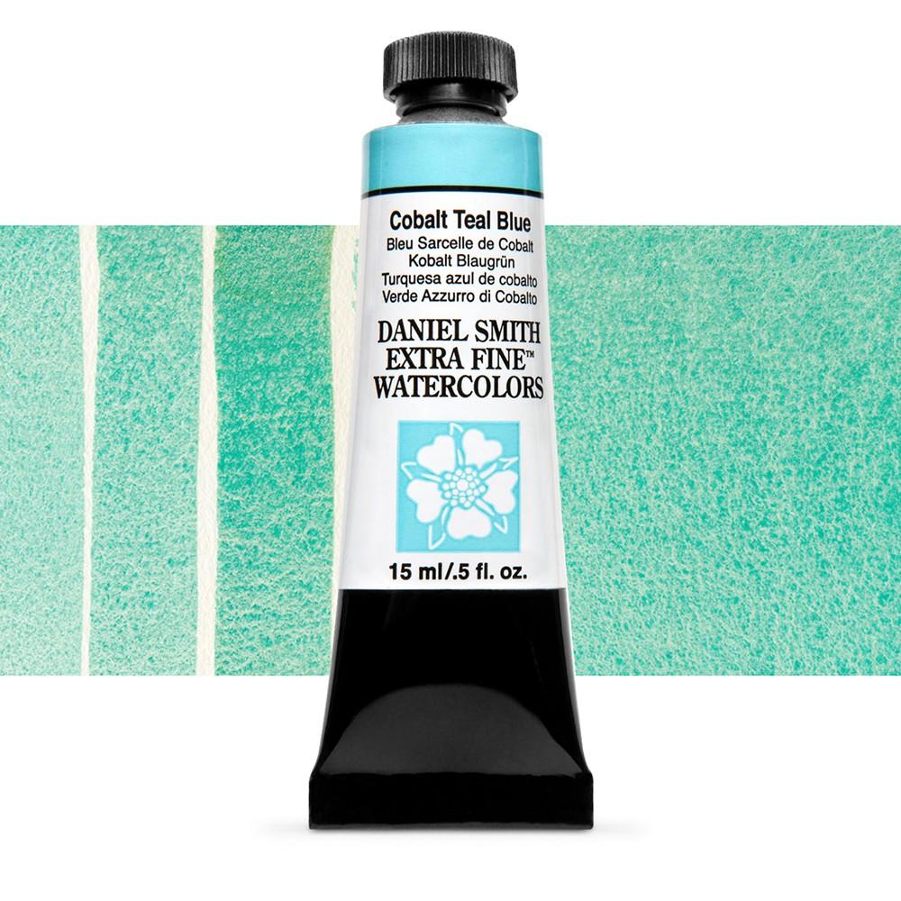 Daniel Smith : Watercolour Paint : 15ml : Cobalt Teal Blue : Series 2