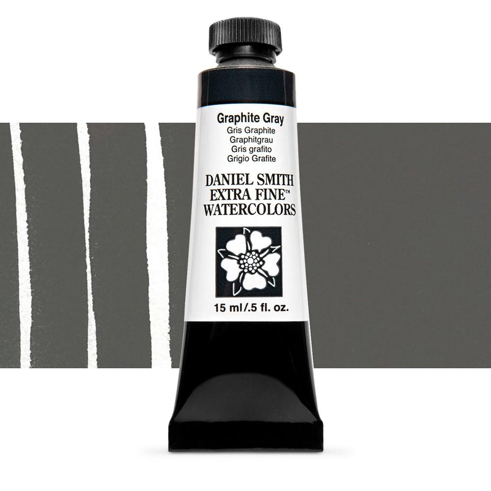 Daniel Smith : Watercolour Paint : 15ml : Graphite Gray : Series 1