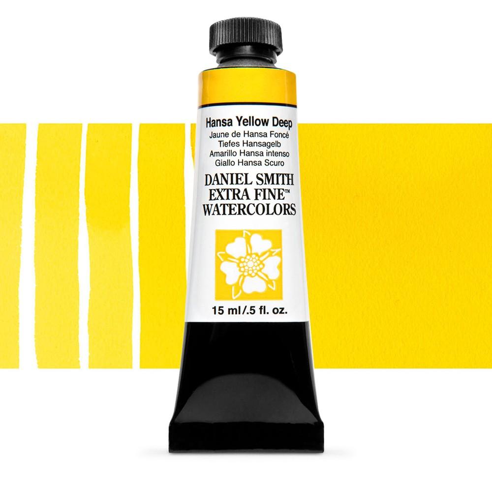 Daniel Smith : Watercolour Paint : 15ml : Hansa Yellow Deep : Series 1