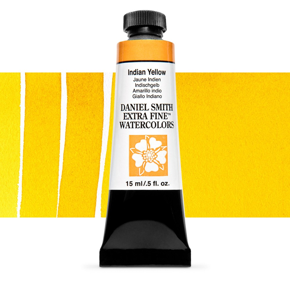 Daniel Smith : Watercolour Paint : 15ml : Indian Yellow : Series 3