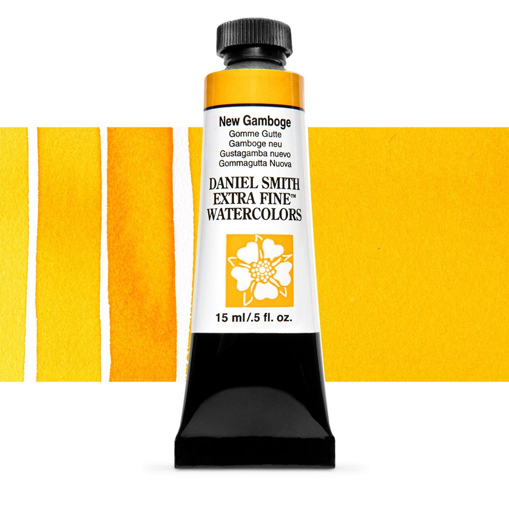 Daniel Smith : Watercolour Paint : 15ml : New Gamboge : Series 1