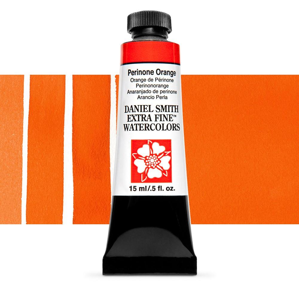 Daniel Smith : Watercolour Paint : 15ml : Perinone Orange : Series 3