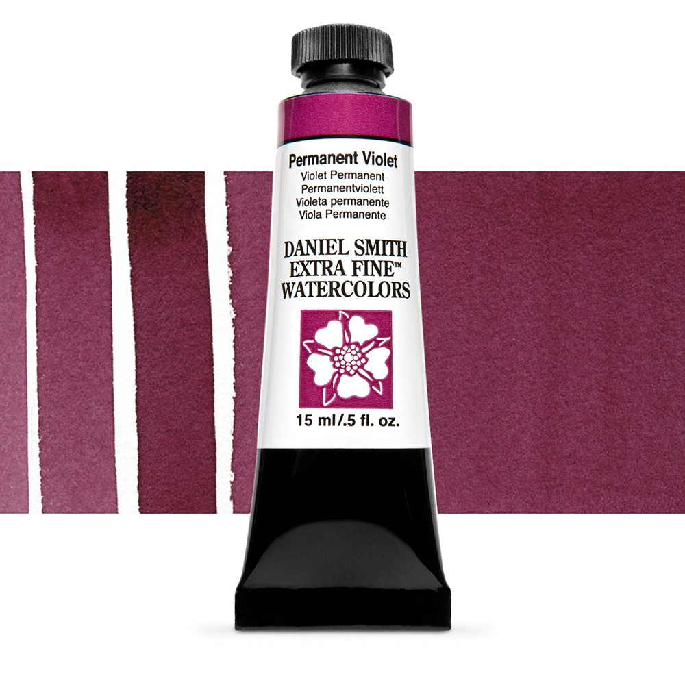 Daniel Smith : Watercolour Paint : 15ml : Permanent Violet : Series 3