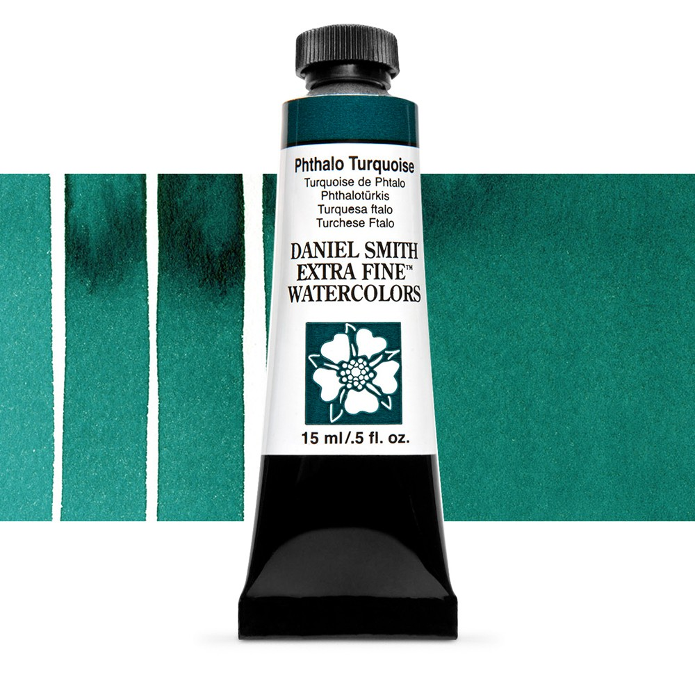 Daniel Smith : Watercolour Paint : 15ml : Phthalo Turquoise : Series 1