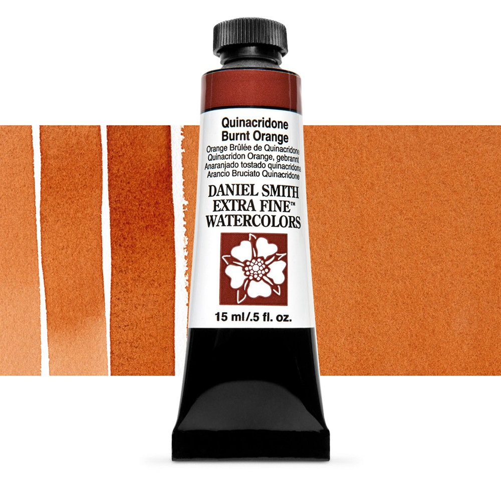 Daniel Smith : Watercolour Paint : 15ml : Quinacridone Burnt Orange : Series 2