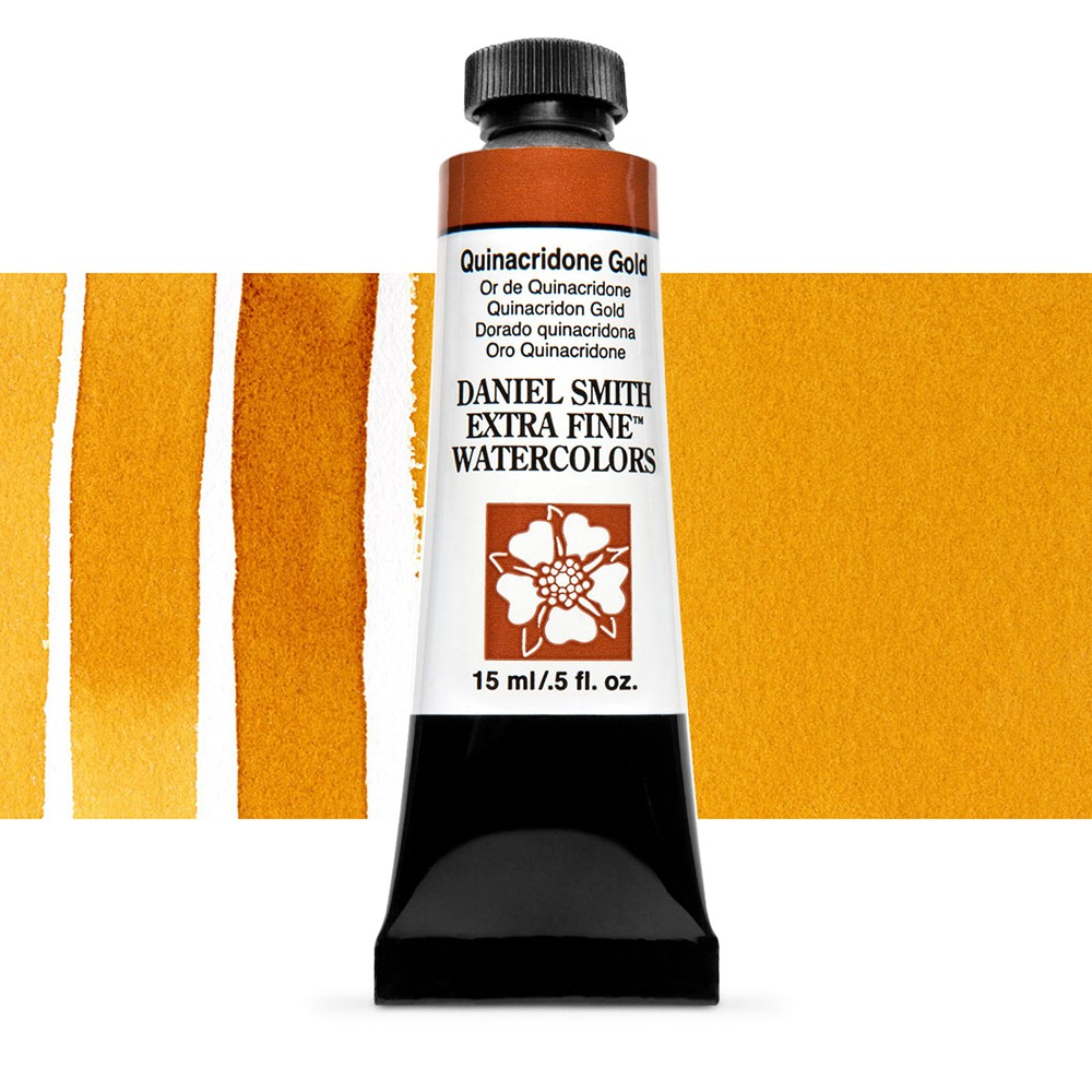 Daniel Smith : Watercolour Paint : 15ml : New Quinacridone Gold : Series 2