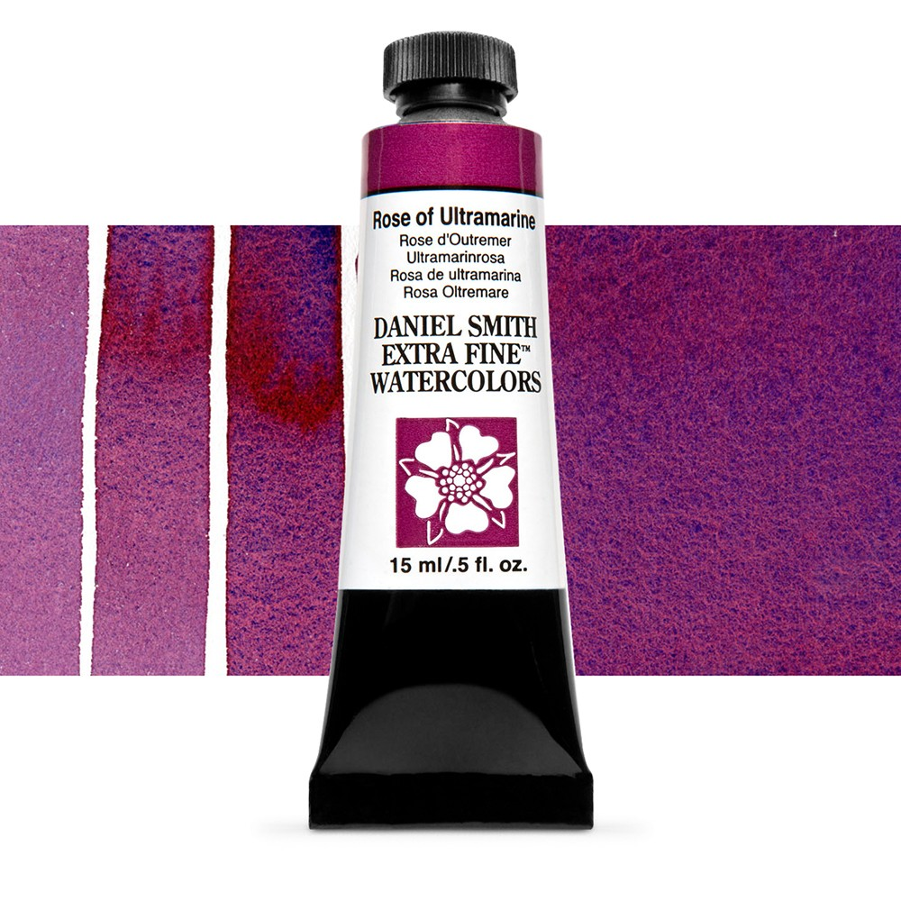 Daniel Smith : Watercolour Paint : 15ml : Rose of Ultramarine : Series 1
