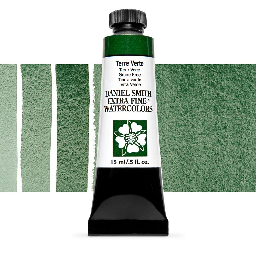 Daniel Smith : Watercolour Paint : 15ml : Terre Verte : Series 1