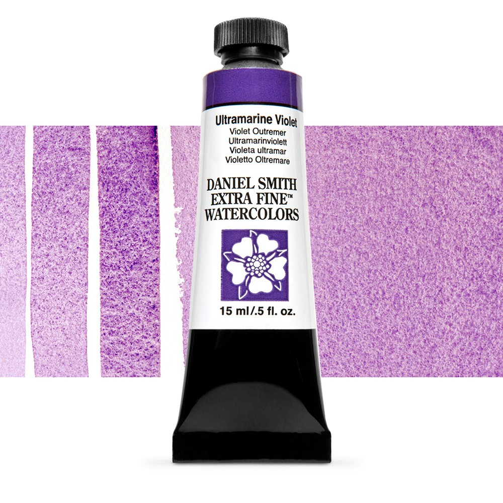 Daniel Smith : Watercolour Paint : 15ml : Ultramarine Violet : Series 1