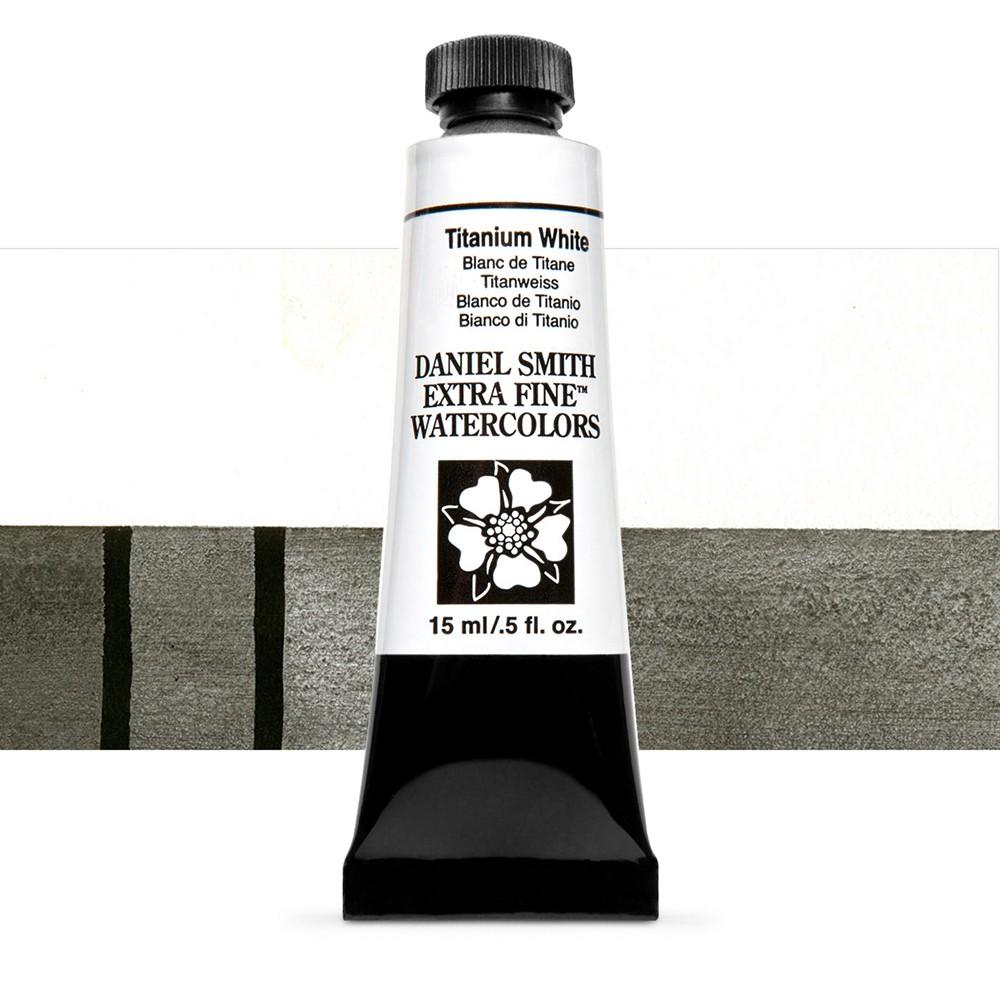Daniel Smith : Watercolour Paint : 15ml : Titanium White : Series 1