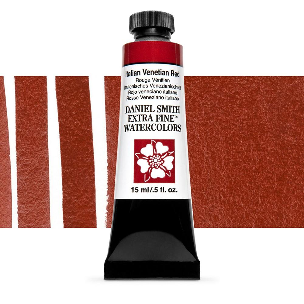 Daniel Smith : Watercolour Paint : 15ml : Italian Venetian Red : Series 1