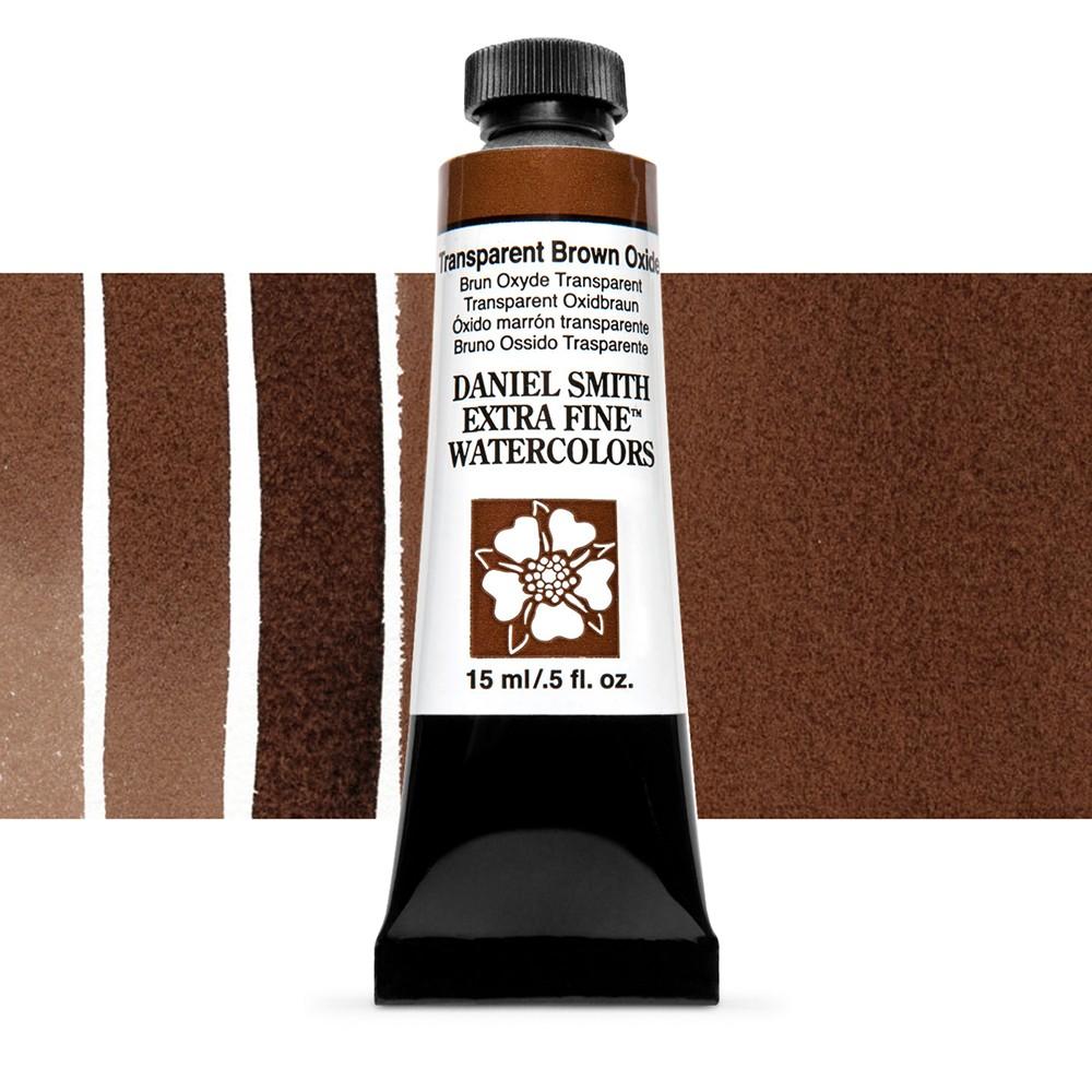 Daniel Smith : Watercolour Paint : 15ml : Transparent Brown Oxide : Series 1