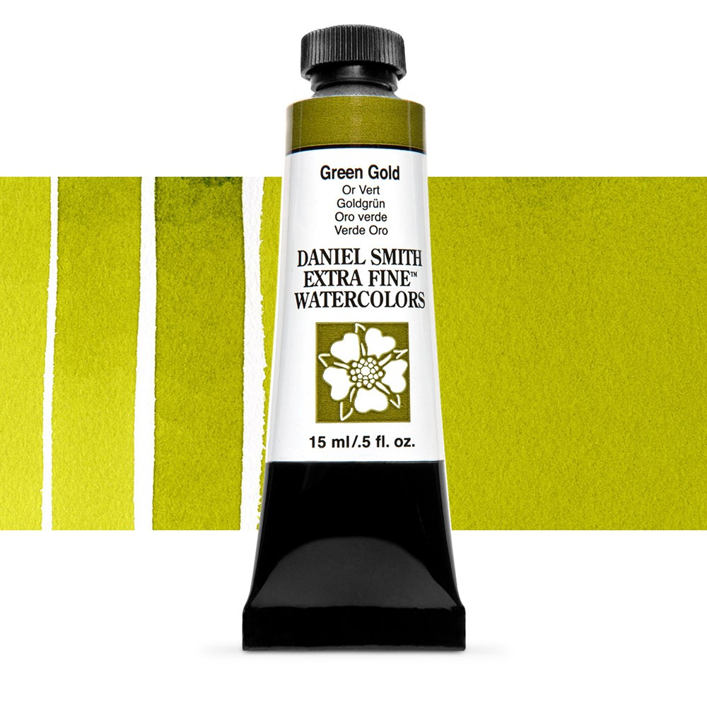Daniel Smith : Watercolour Paint : 15ml : Green Gold : Series 2