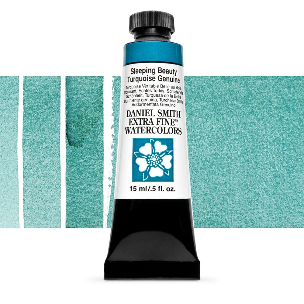 Daniel Smith : Watercolour Paint : 15ml : Sleeping Beauty Turq. Gen : b Series 5