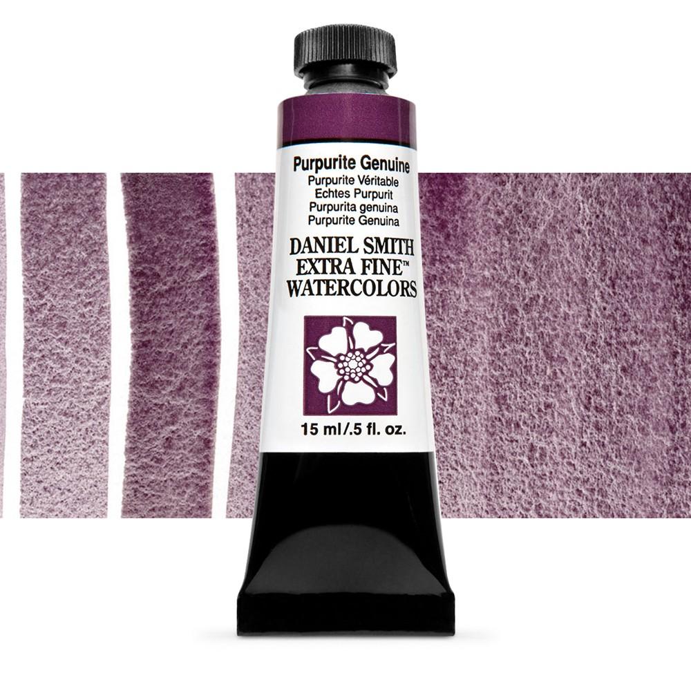 Daniel Smith : Watercolour Paint : 15ml : Purpurite Genuine : Series 2