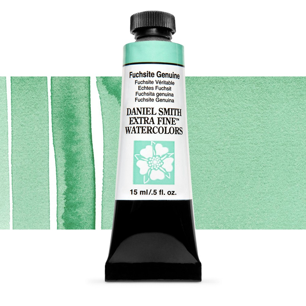Daniel Smith : Watercolour Paint : 15ml : Fuchsite Genuine : b Series 2
