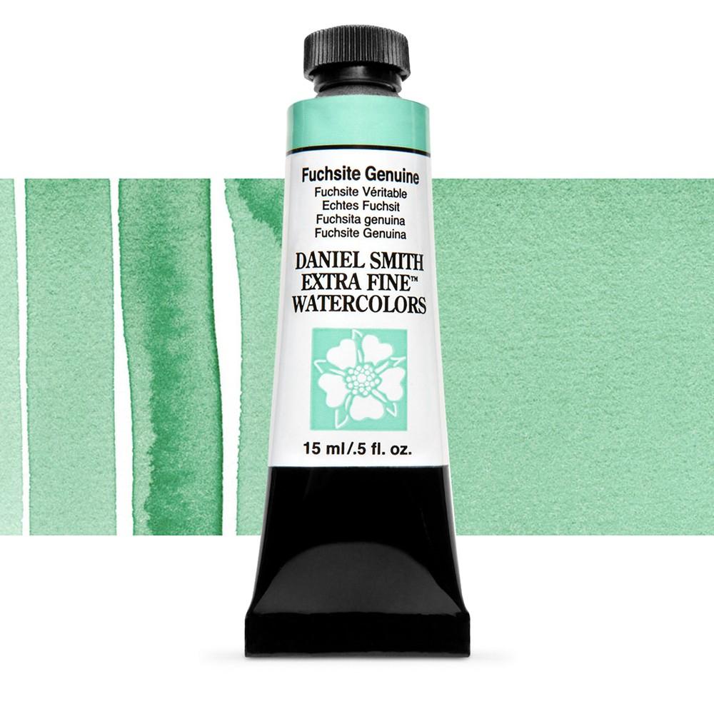 Daniel Smith : Primatek Watercolour Paint : 15ml : Fuchsite Genuine : b Series 2