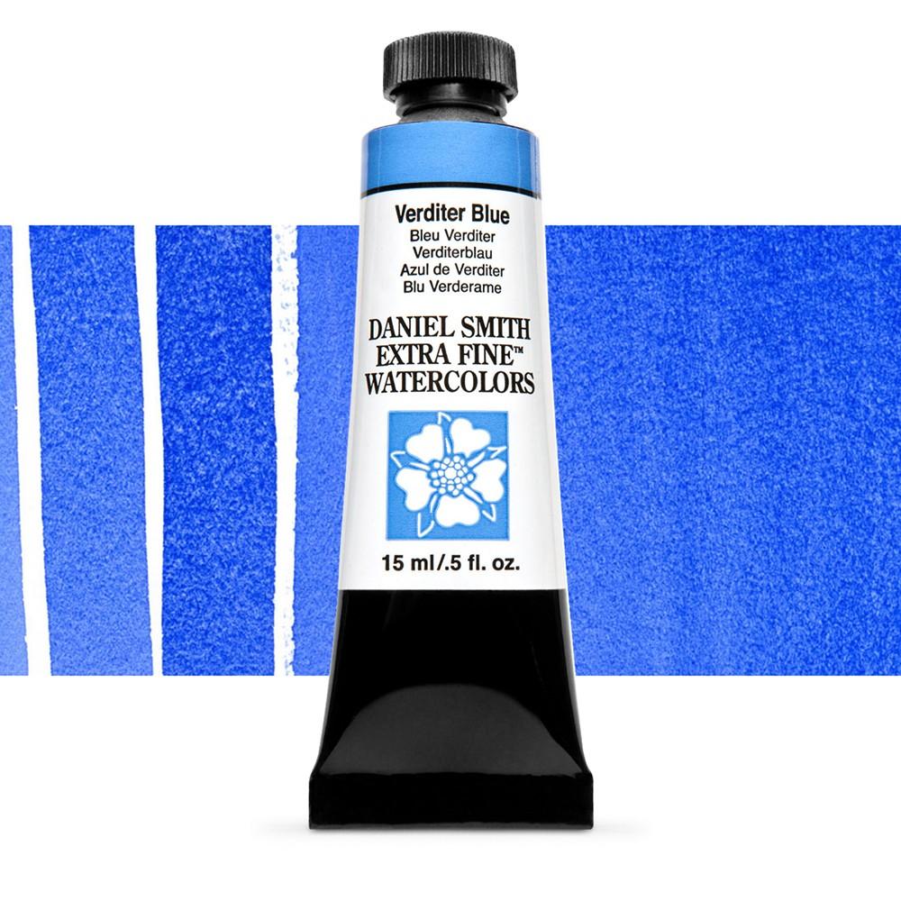 Daniel Smith : Watercolour Paint : 15ml : Verditer Blue : Series 2
