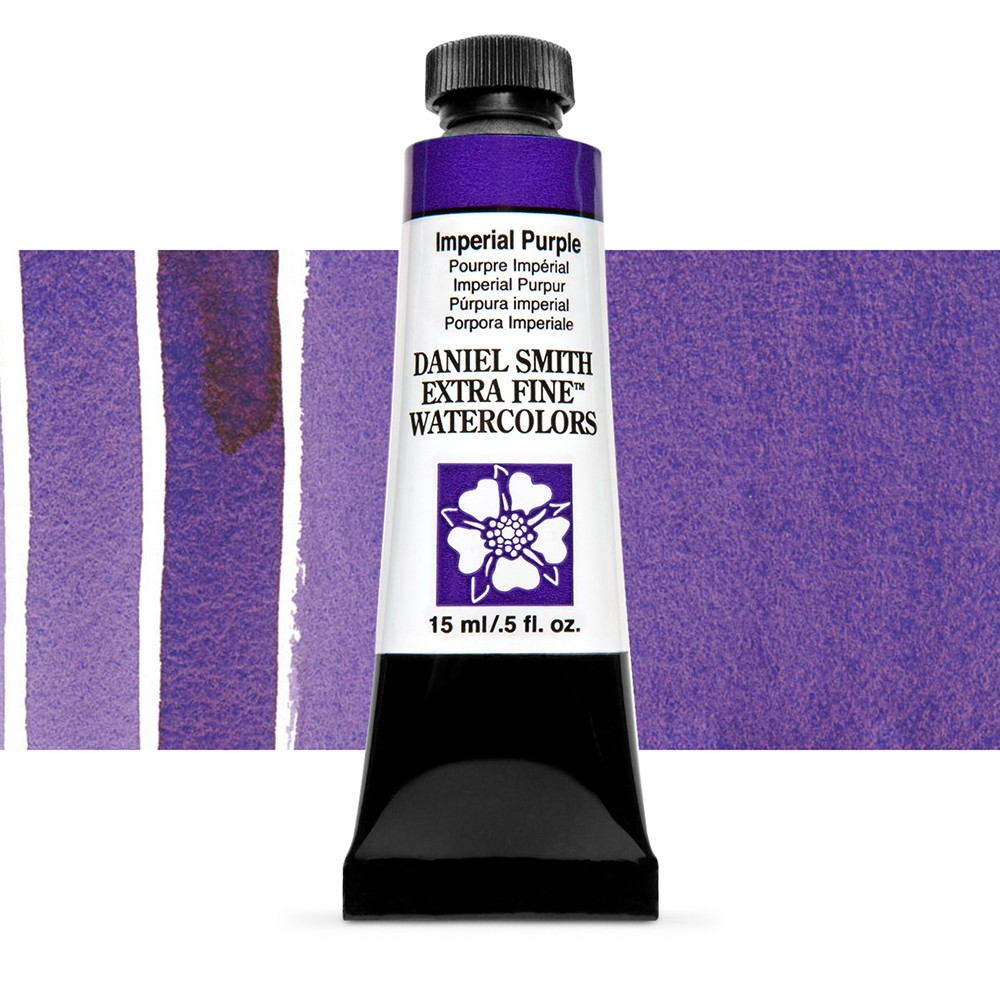 Daniel Smith : Watercolour Paint : 15ml : Imperial Purple : Series 2