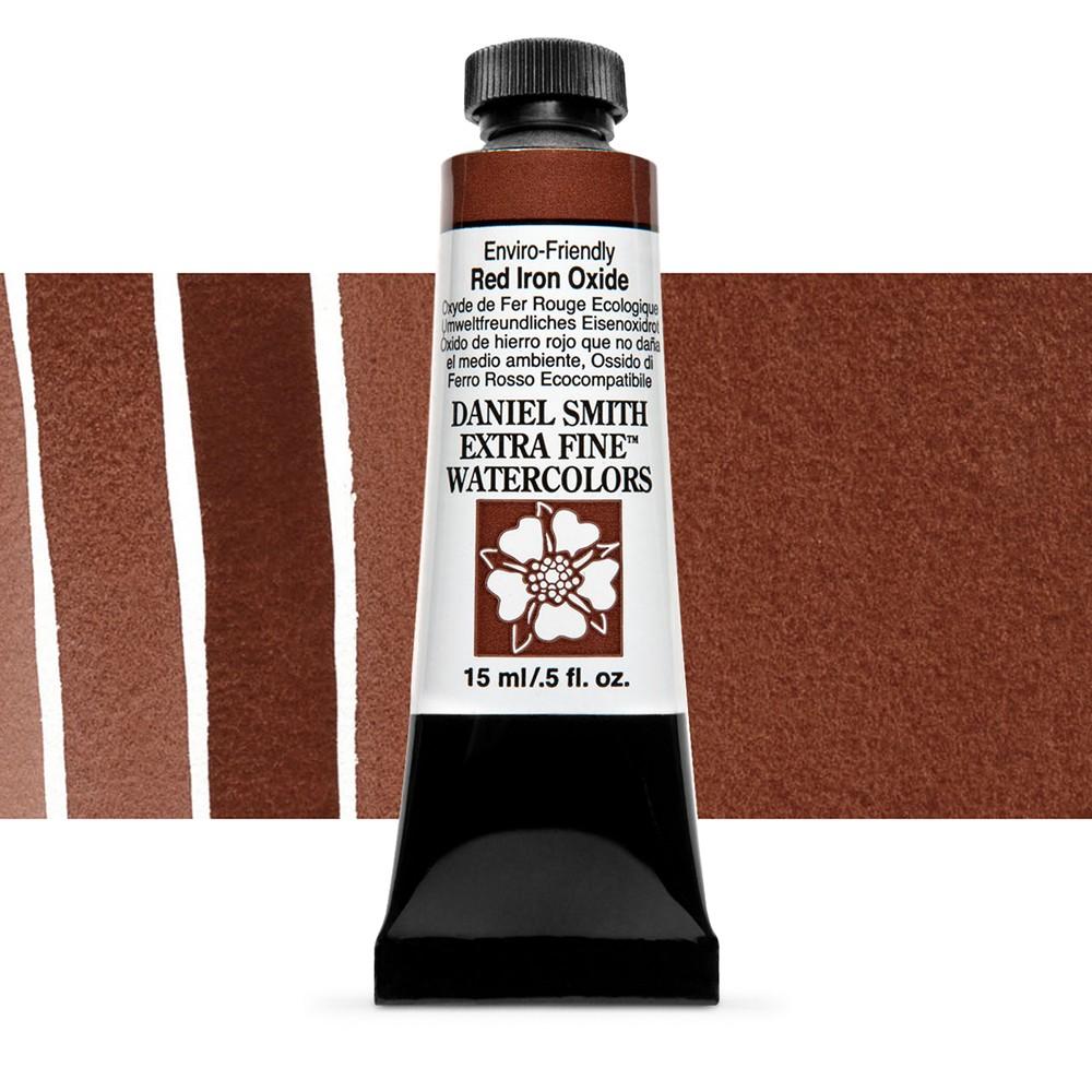 Daniel Smith : Watercolour Paint : 15ml : Enviro-friendly Red Iron Oxide : Series 2