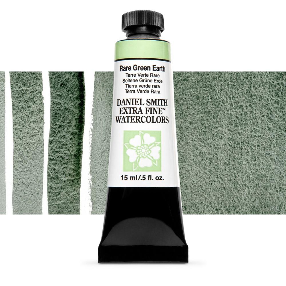 Daniel Smith : Watercolour Paint : 15ml : Rare Green Earth : Series 2