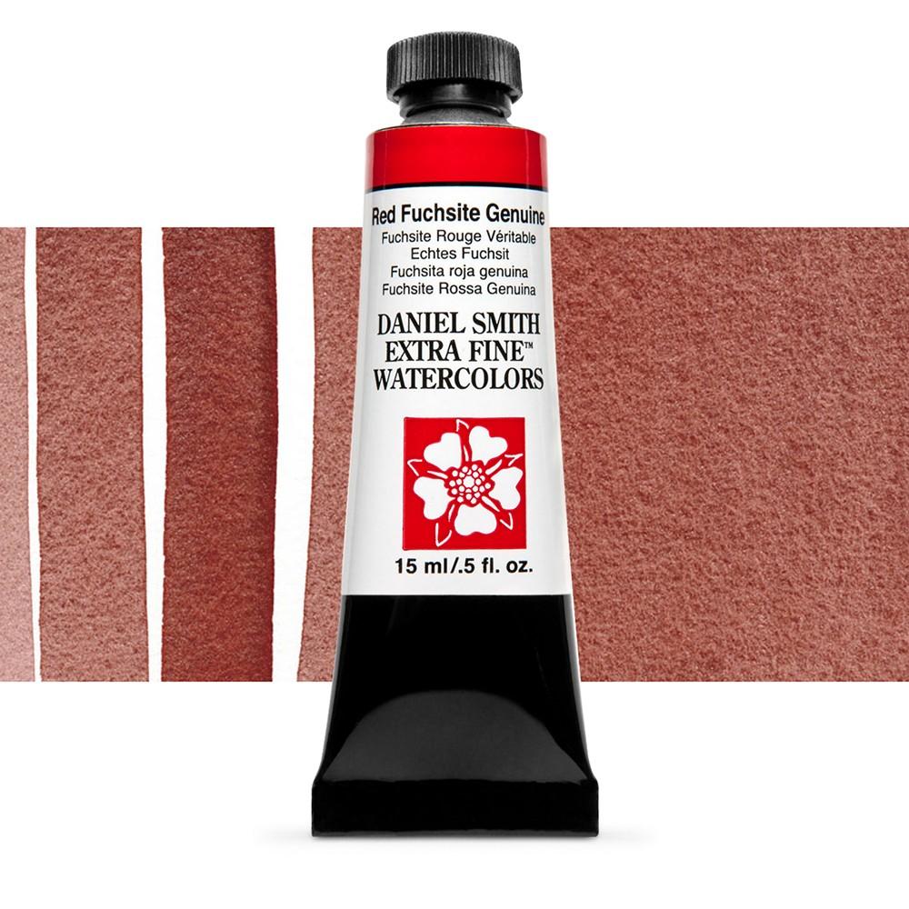 Daniel Smith : Watercolour Paint : 15ml : Red Fuchsite Genuine : b Series 3