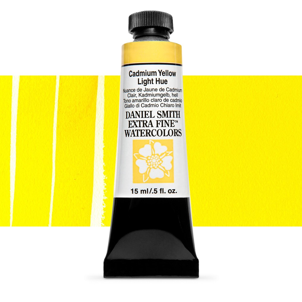 Daniel Smith Watercolour 15ml : Cadmium Yellow Light Hue S3