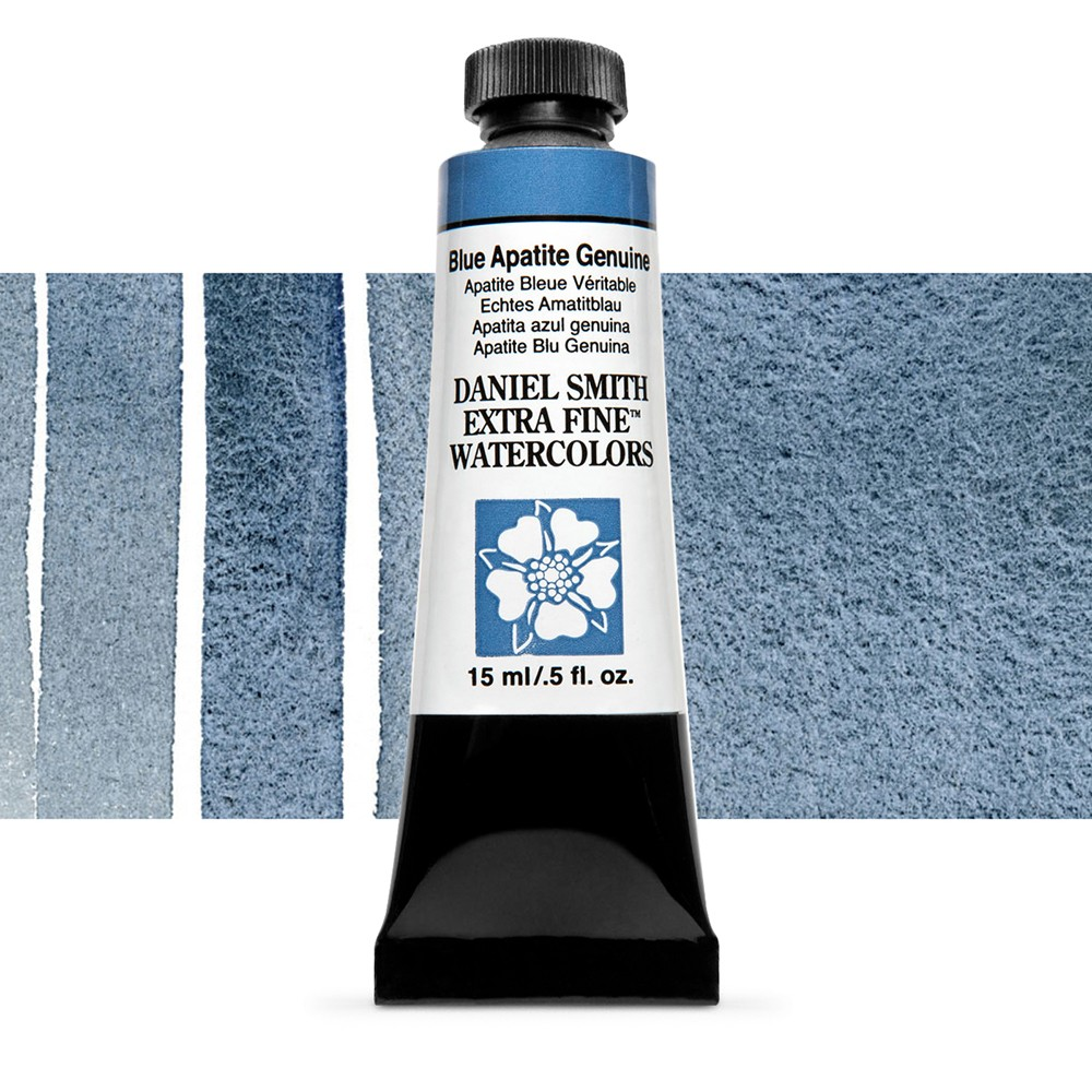 Daniel Smith : Watercolour Paint : 15ml : Blue Apatite Genuine : b Series 4