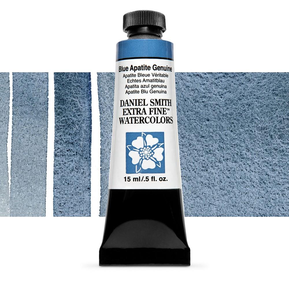 Daniel Smith : Primatek Watercolour Paint : 15ml : Blue Apatite Genuine : b Series 4