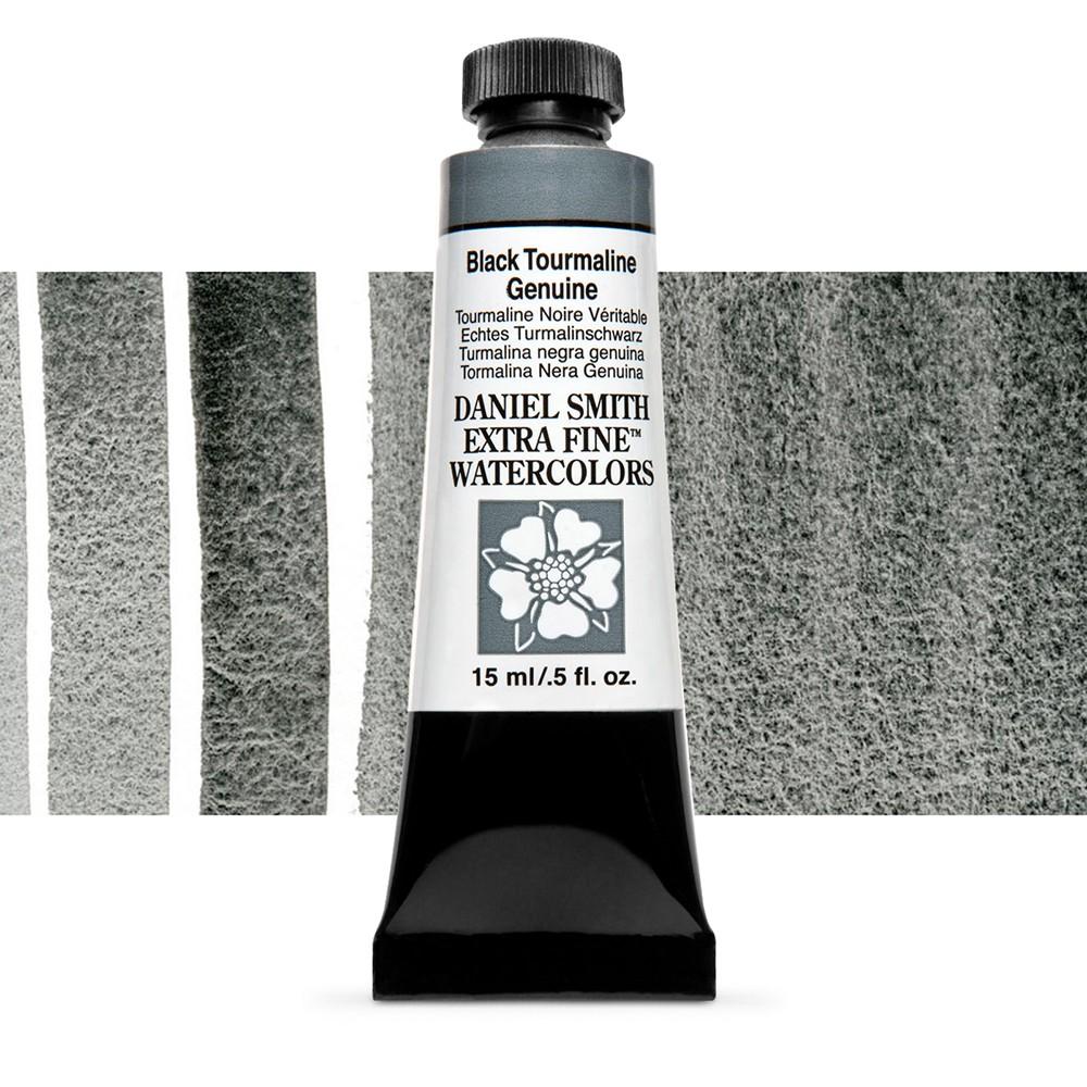 Daniel Smith : Watercolour Paint : 15ml : Black Tourmaline : b Series 3